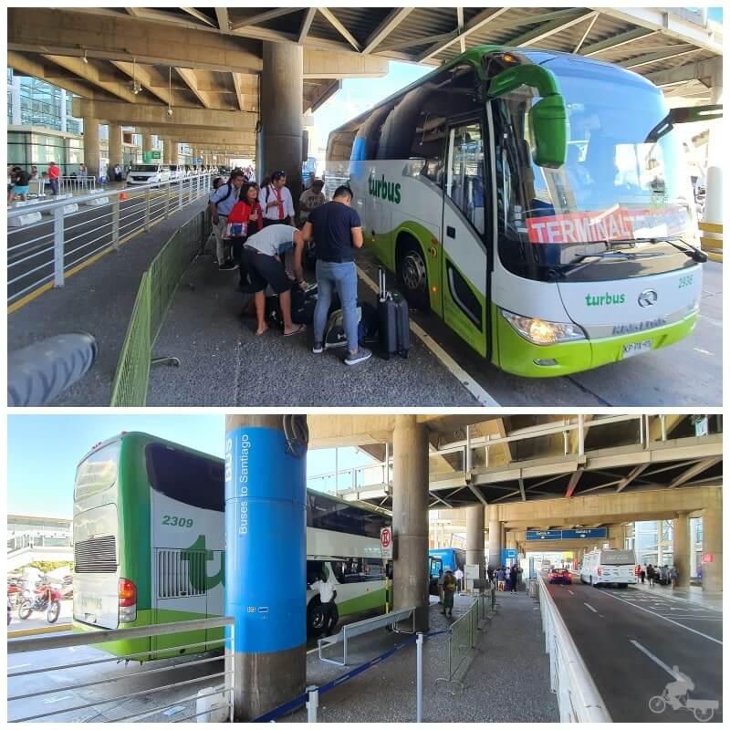 turbus aeropuerto santiago