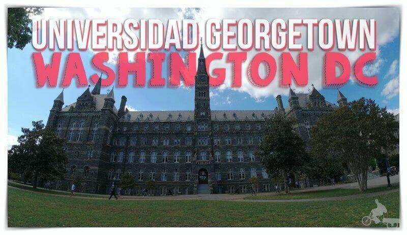 visitar universidad Georgetown