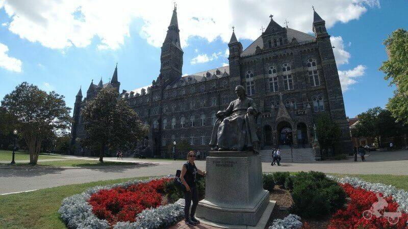 John Carroll fundador de la Universidad de Georgetown