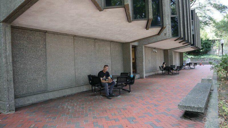 picnic visitar la universidad de Georgetown