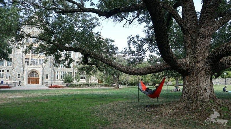 relax visitar la universidad de Georgetown