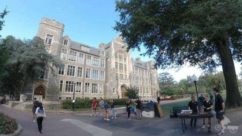 visitar la universidad de Georgetown