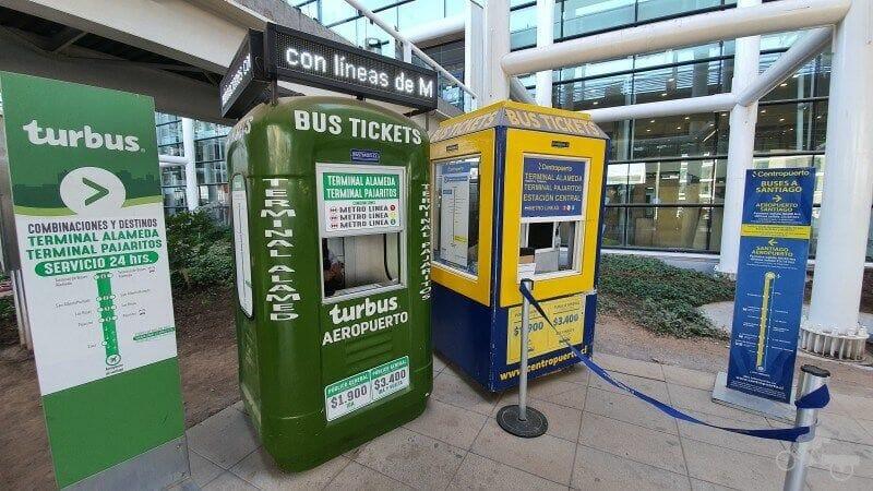 venta boletos buses aeropuerto chile