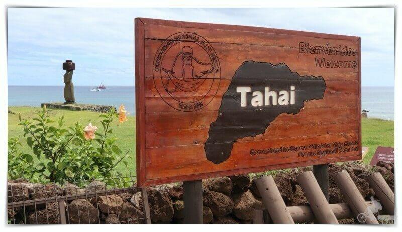 visitar Tahai en isla de pascua