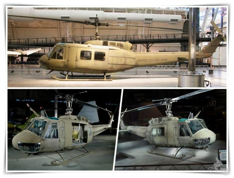 Bell UH 1H Iroquois Huey Smokey IIII