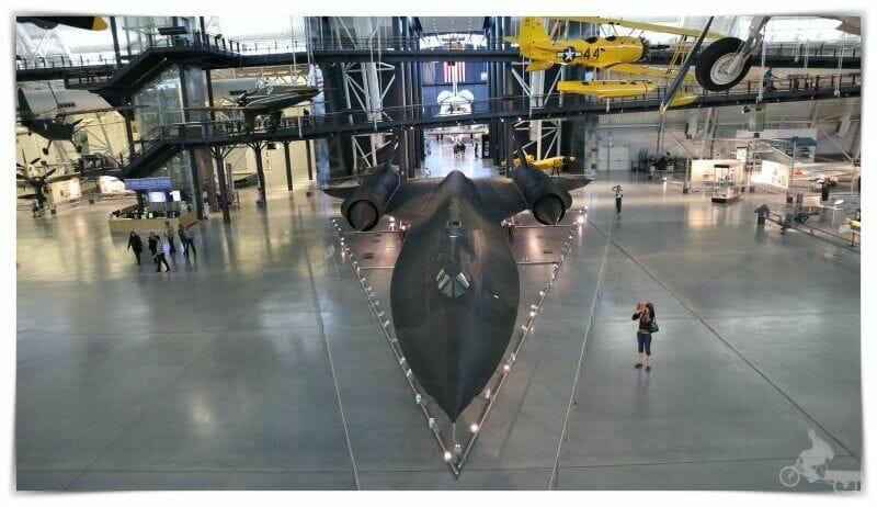 Avión Lockheed SR-71 Blackbird