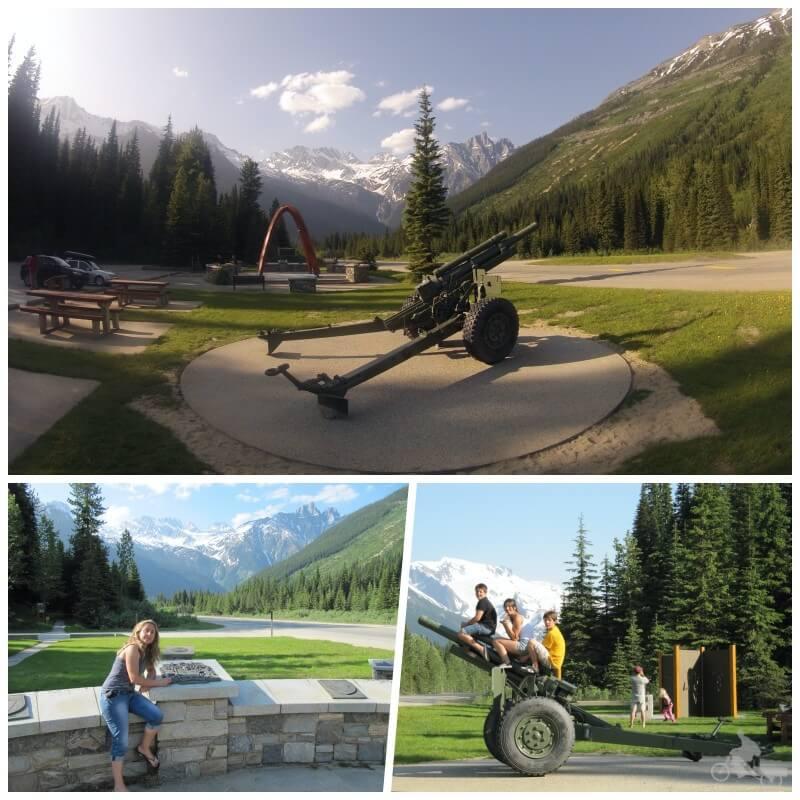 Roger pass que visitar en las Montañas Rocosas del Canadá