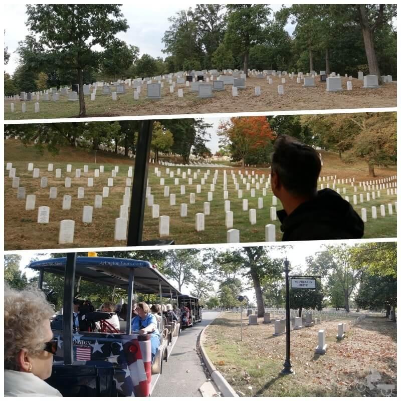 tumbas cementerio arlington Washington