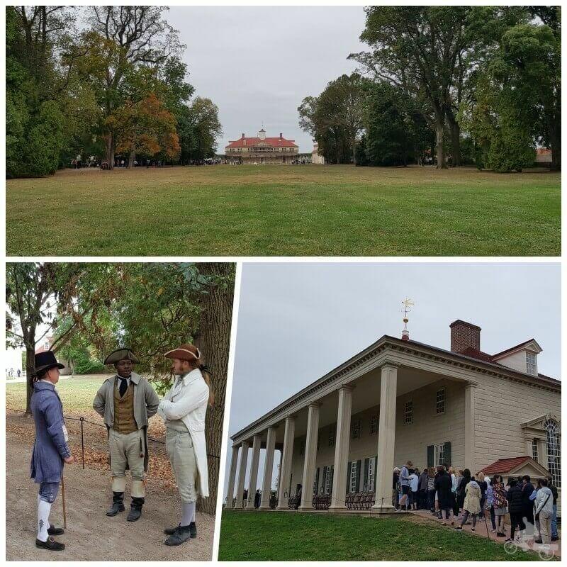 casa de George washington visitar Mount Vernon