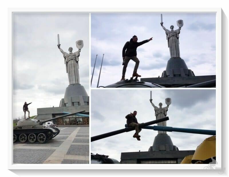 Estatua Madre Patria de Kiev