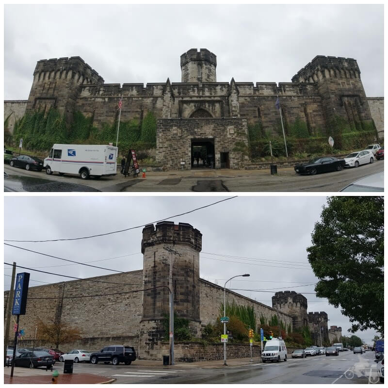 fachada eastern state penitentiary