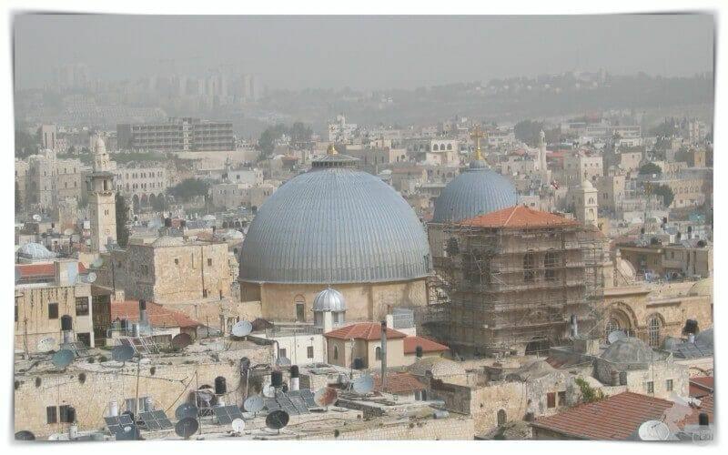 iglesia del Santo Sepulcrode Jerusalén