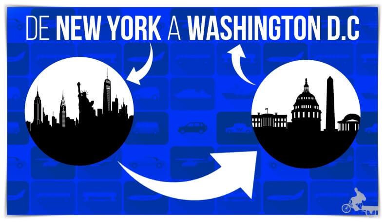 cómo ir de nueva york a washington