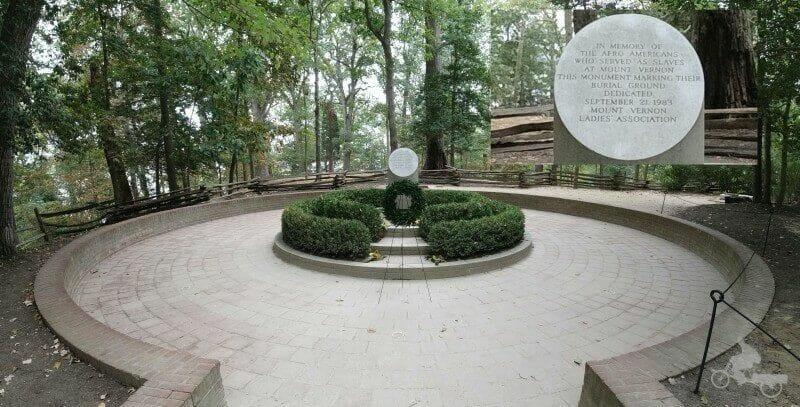 memorial esclavos mount vernon
