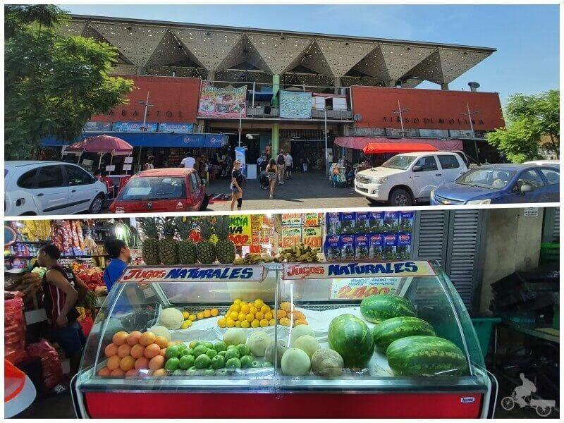 mercado frutas verduras - Mejores free tours en Santiago de Chile