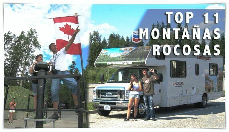 qué ver en las Montañas Rocosas del Canadá