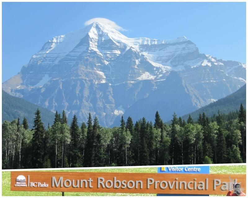 mount robson qué visitar en las Montañas Rocosas del Canadá