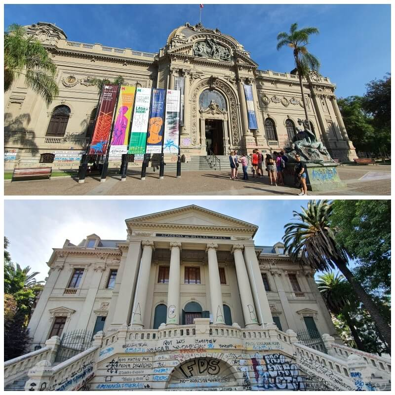 museo bellas artes santiago chile