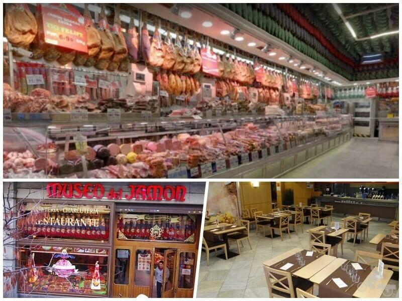 museo del jamón - dónde comer en Madrid