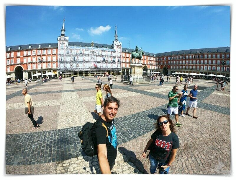 plaza Mayor - qué visitar en Madrid