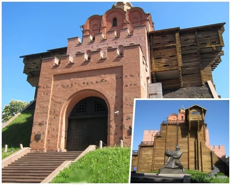 Puerta Dorada - qué ver en Kiev