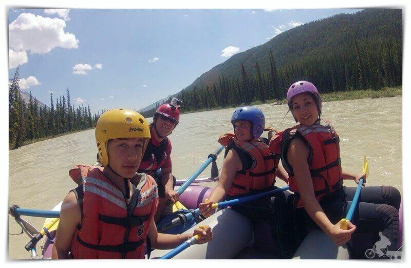 rafting rocosas canada