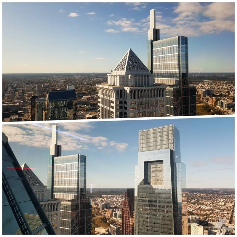 vistas philly from the top filadelfia