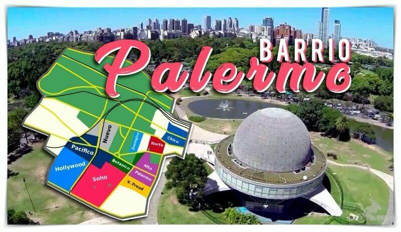 Barrio Palermo de Buenos Aires