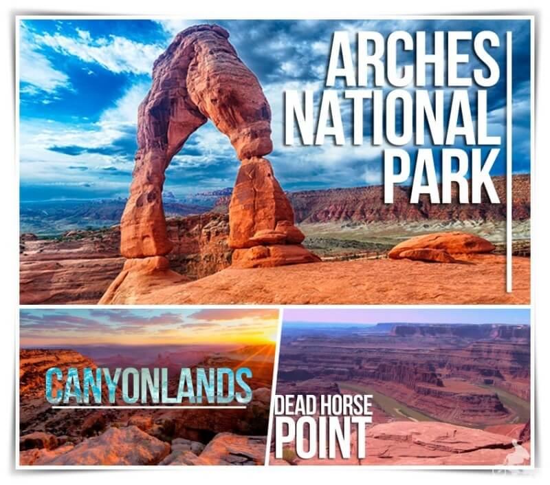 parques nacionales cerca de Moab Utah