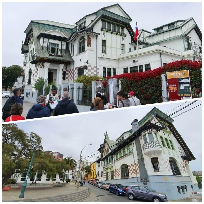 Palacio Baburizza - free tour Valparaíso