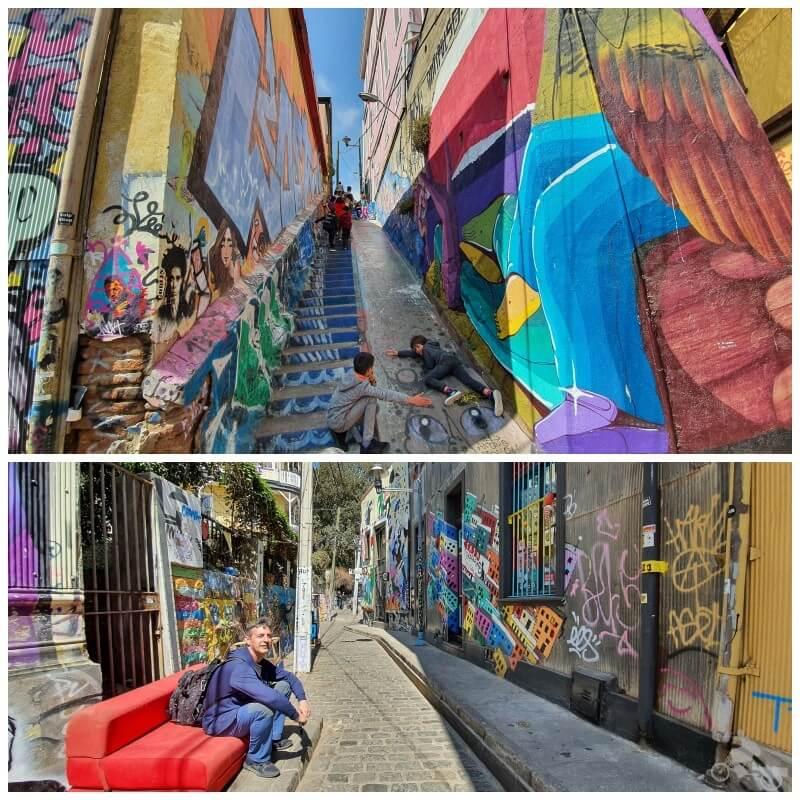 calle gálvez - free tour por Valparaíso