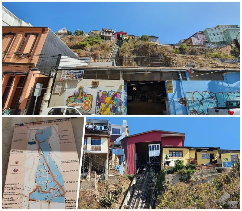 ascensor Espíritu Santo - qué ver en Valparaíso en un día o dos