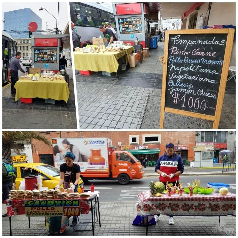 comida callejera Valparaíso