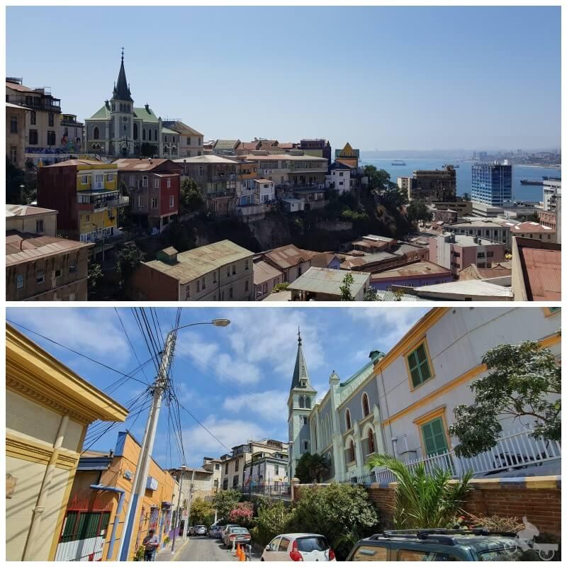 iglesia alemana- free tour por Valparaiso