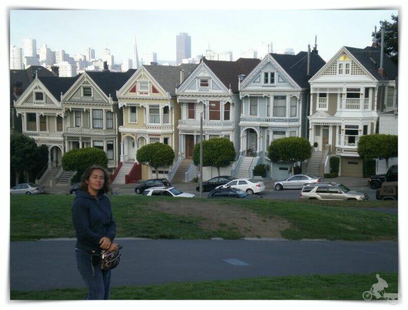 Painted ladies de San Francisco