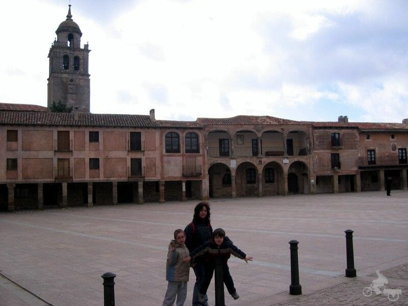 Plaza Mayor- qué visitar en Medinaceli