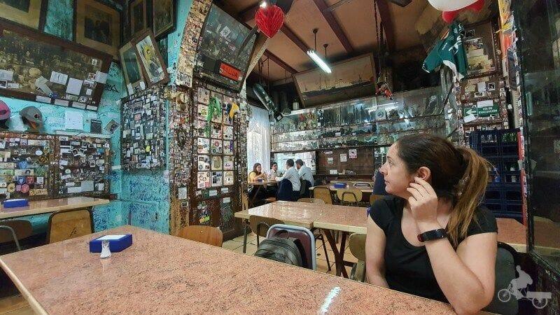 restaurante J Cruz de Valparaíso