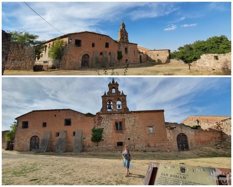 ruinas del convento de San Román en Soria