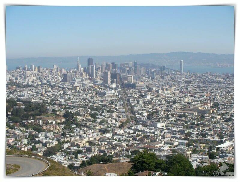 vistas desde Twin peaks - qué ver en San Francisco
