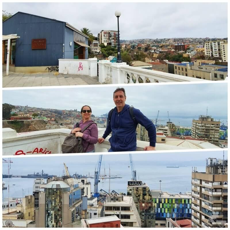 vistas Valparaiso desde Cerro Alegre