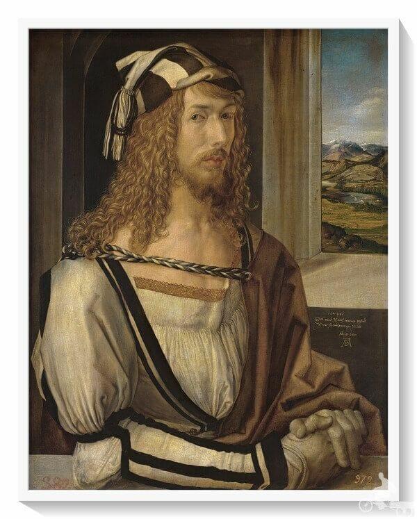 Autorretrato de Durero en museo del Prado