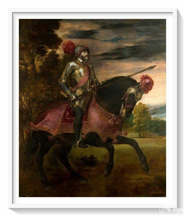 Carlos V - mejores obras del museo del Prado