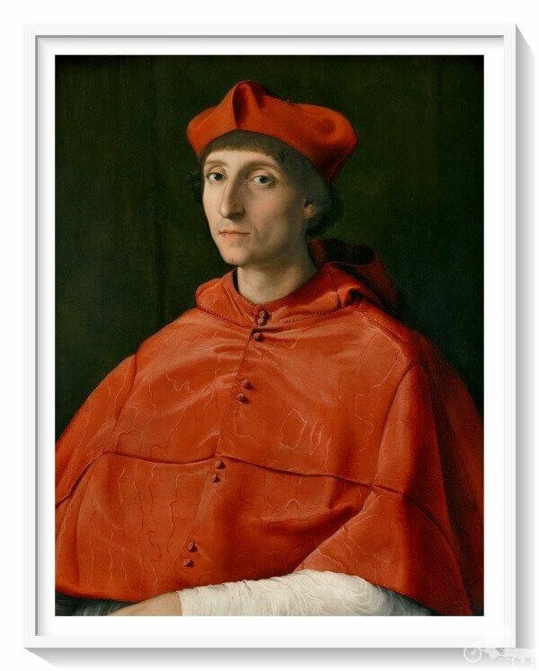 El Cardenal de Rafael Sanzio en el Prado