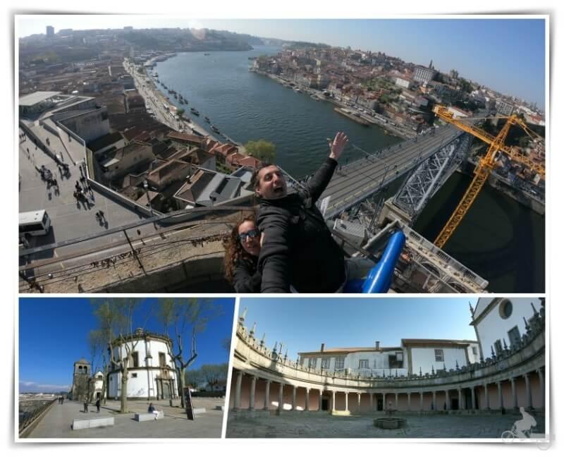 Monasterio da Serra do Pilar - que visitar en oporto