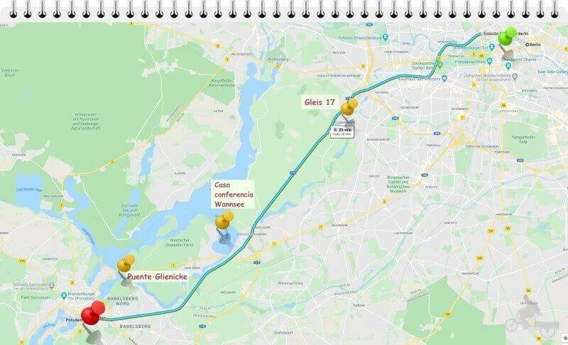 como llegar a Potsdam desde Berlín en tren