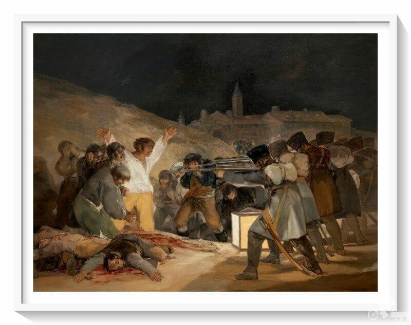 fusilamientos del 3 de mayo de Madrid de Goya