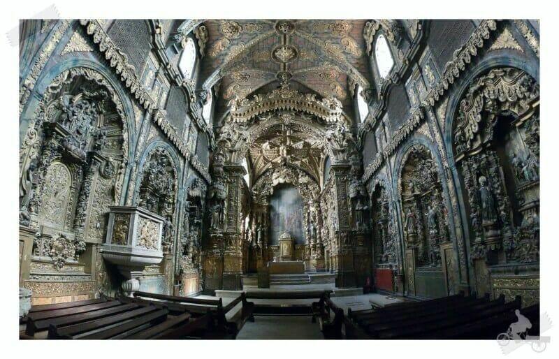iglesia de Santa Clara - qué visitar en Oporto