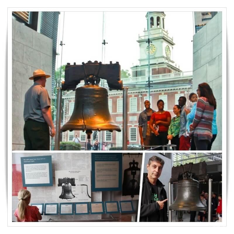 Liberty bell en Filadelfia