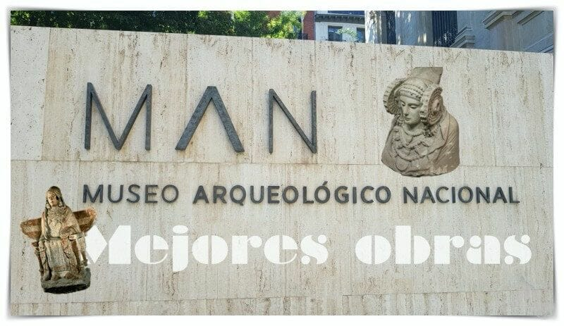 Mejores obras museo arqueológico nacional de España
