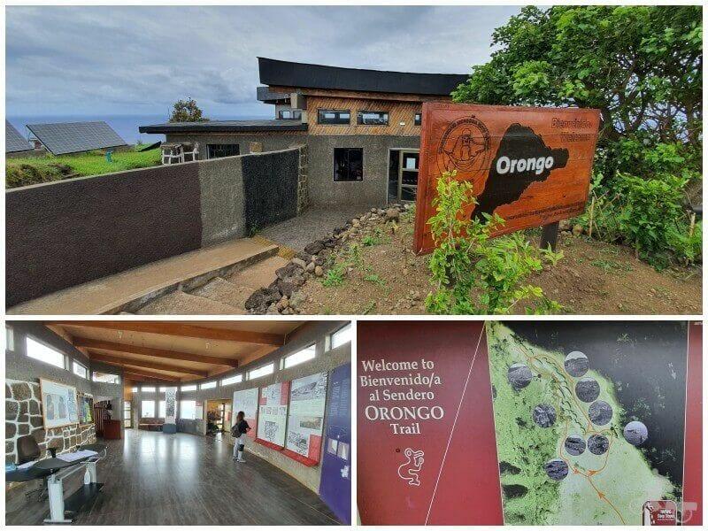 entrada de Orongo rapa Nui